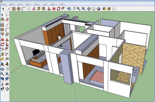 SketchUP ! 好用免費3D繪圖軟體