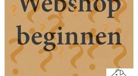 Webshop beginnen tips