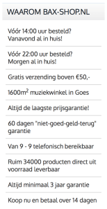 succesvolle webshops bax-shop.nl