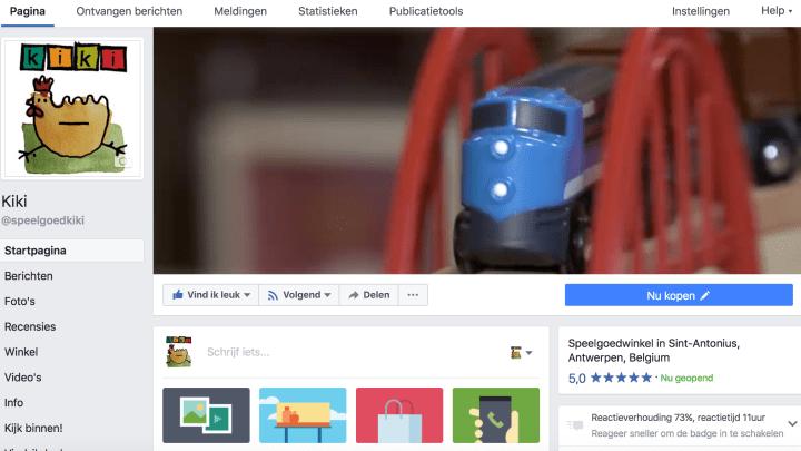 Omslagvideo voor Facebook (i.p.v. omslagfoto)
