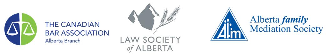 Canadian Bar Association, Law Society of Alberta, Alberta Family Mediation Society