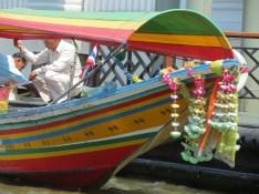 Longtail Boat on the Chao Phraya River, Bangkok