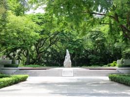 Sculpture in Chulalongkhorn University Grounds, Bangkok