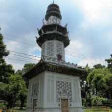 Chinese Clock Tower, Lumpini Park