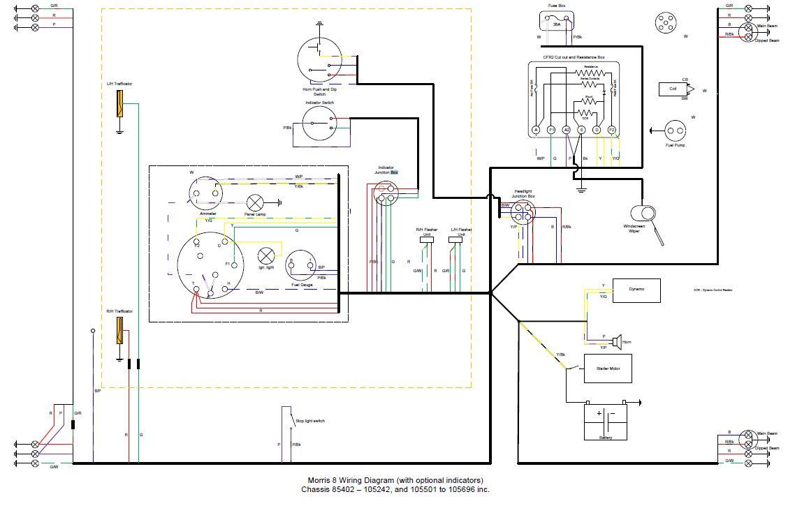 M8 Wiring Diagram  U2013 Morris Register