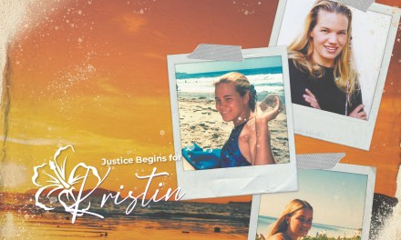 Justice Begins for Kristin Smart <BR>After Almost 25 Years