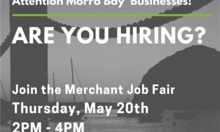 Morro Bay Merchant Job Fair: May 20