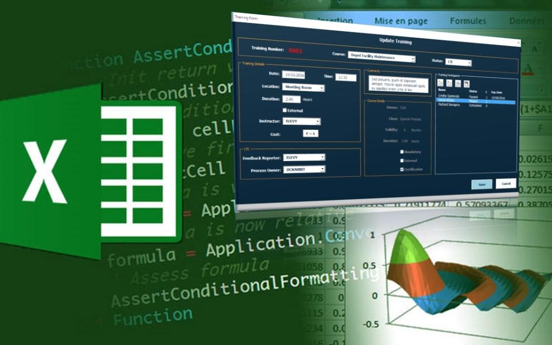 Excel VBA user forms