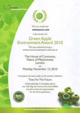 Green Apple Award 2010