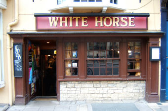 white horse dead of jericho