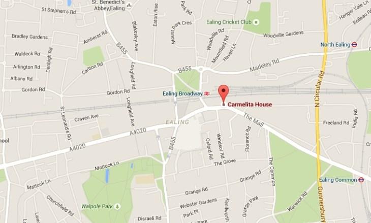 police hq carmelita house ealing