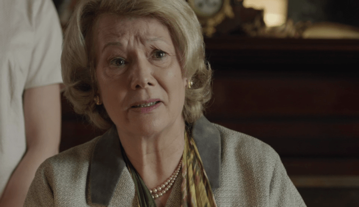 Diane fletcher as bronwen symes in Endeavour episode Nocturne