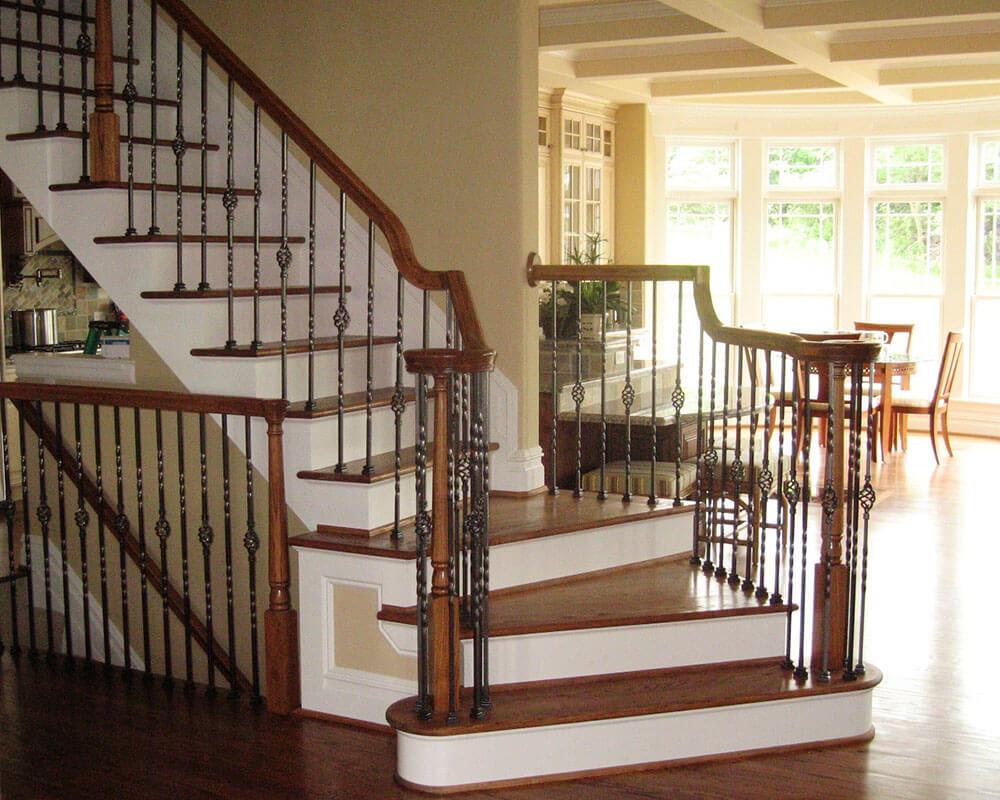 medium resolution of 1000x800 0014 stair traditional ironwinder