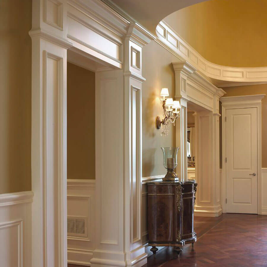 Custom millwork moulding trim morse lumber for Architectural trim