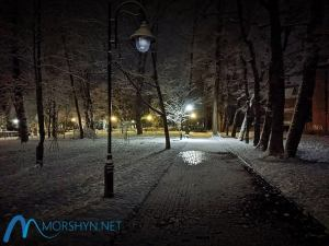 Зимняя ночь в Моршине