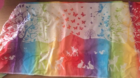 Natibaby Magical Forest Fairies of the Rainbow white 100% katoen