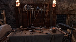 Weapon Crafting Table in Mortal Online 2