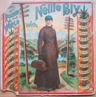 Round the World with Nellie Bly Board Game - 1890