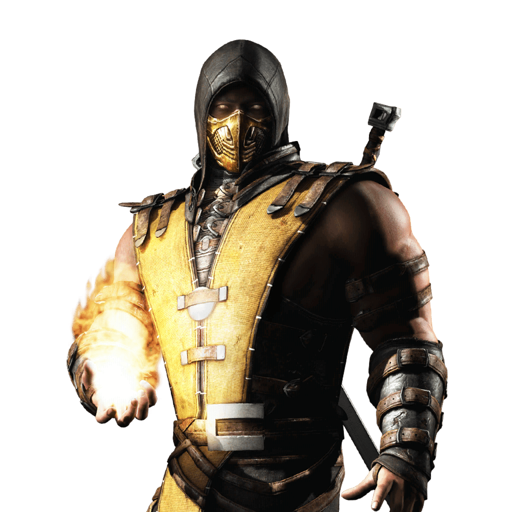 Mkwarehouse Mortal Kombat Mobile Scorpion