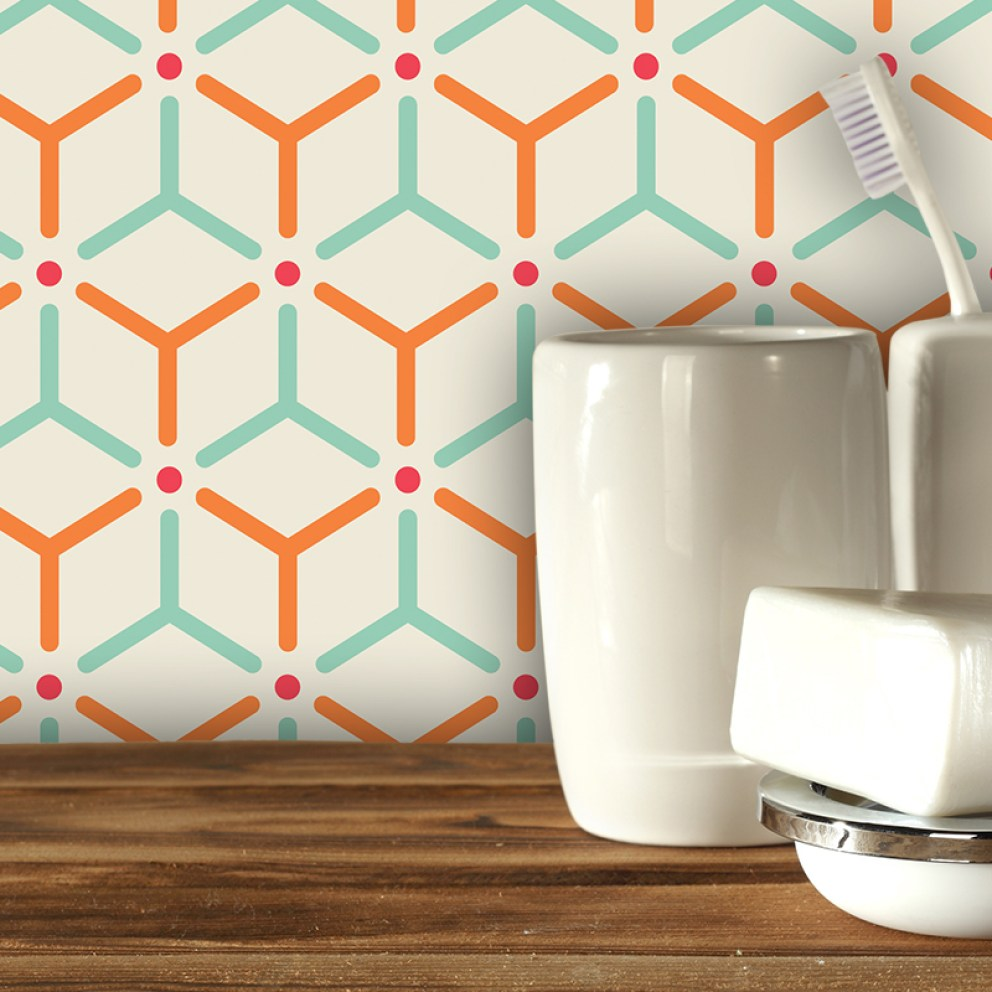 Hex Feature Tile - 2017 geometric design available in th UK at forthefloorandmore.com