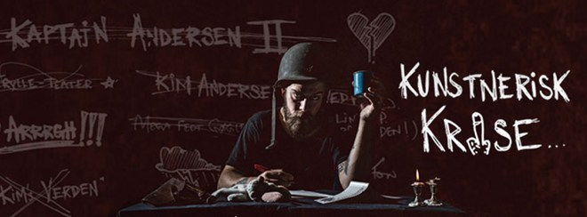 Kim Andersen: Kunstnerisk krise Foto: Jakob Halskov