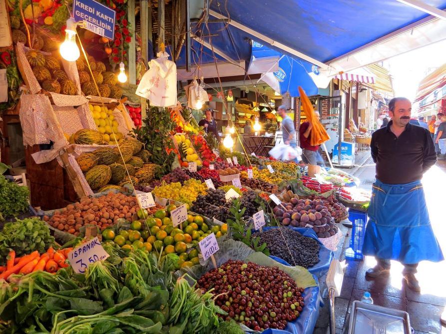 Markt, Kadiköy, Istanbul
