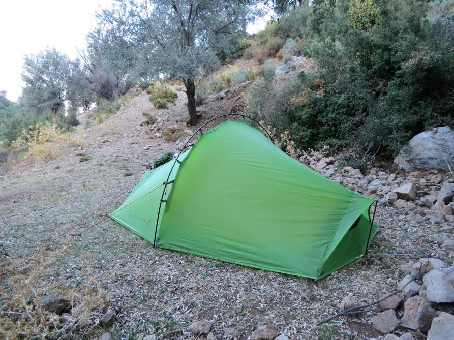 1. Zeltplatz auf dem Lykischen Weg