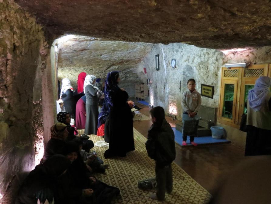 Abrahams Geburtshöhle, Urfa
