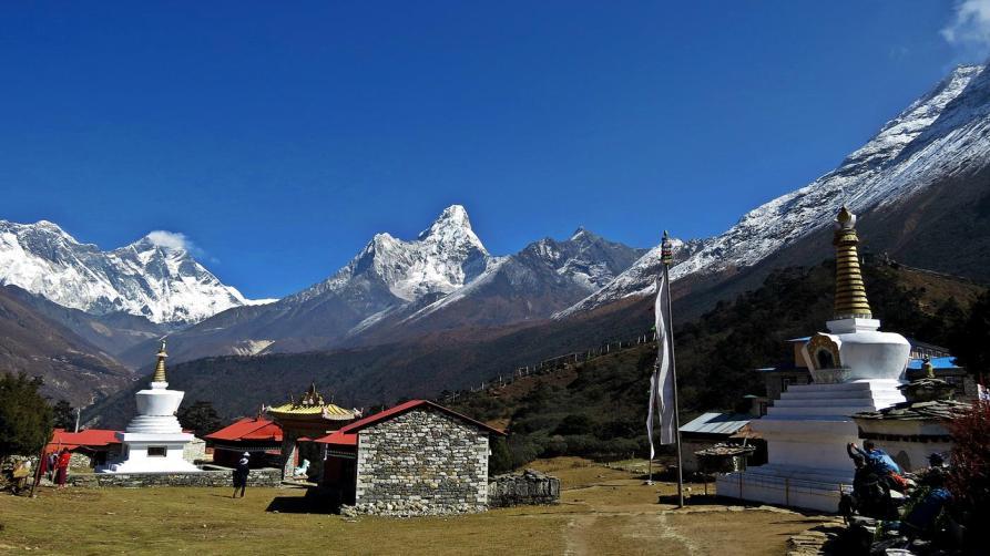 Tengboche Panorama, Everest Base Camp Trek