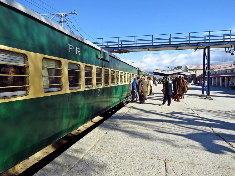 Bahnhof, Quetta, Beluchistan, Pakistan