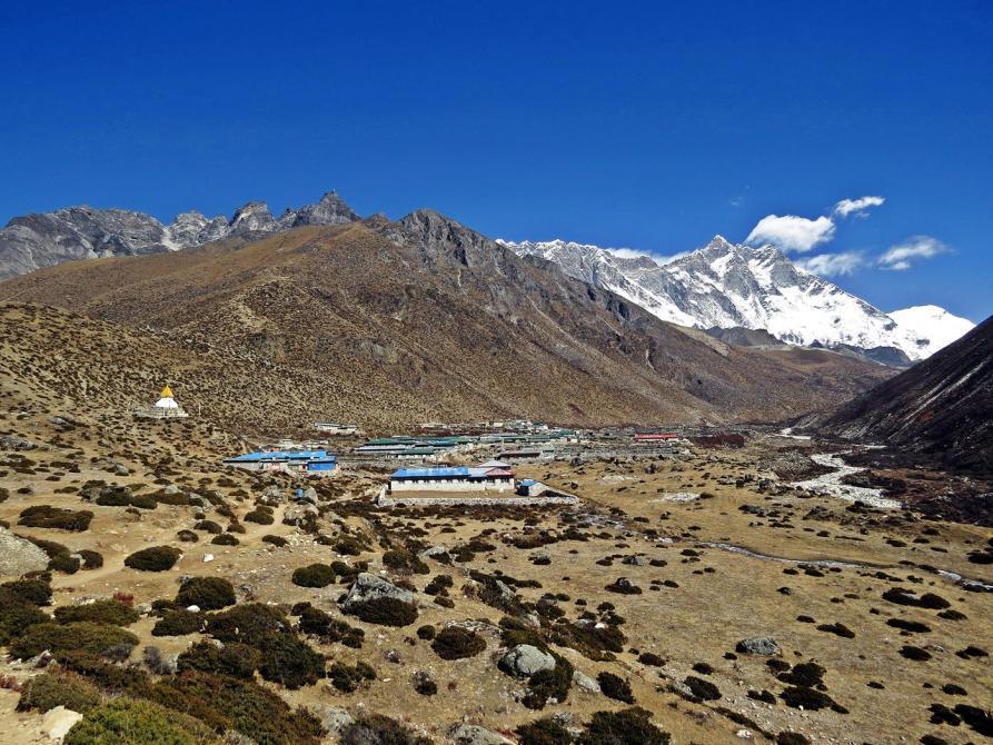 Dingboche, Tundra, Himalaja
