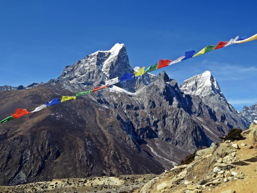 Gipfel, Taboche und Cholatse