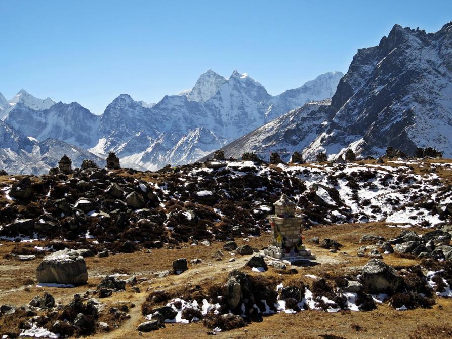 Chorten, Himalaja