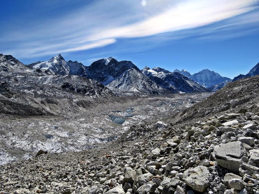 Khumbugletscher, Himalaya