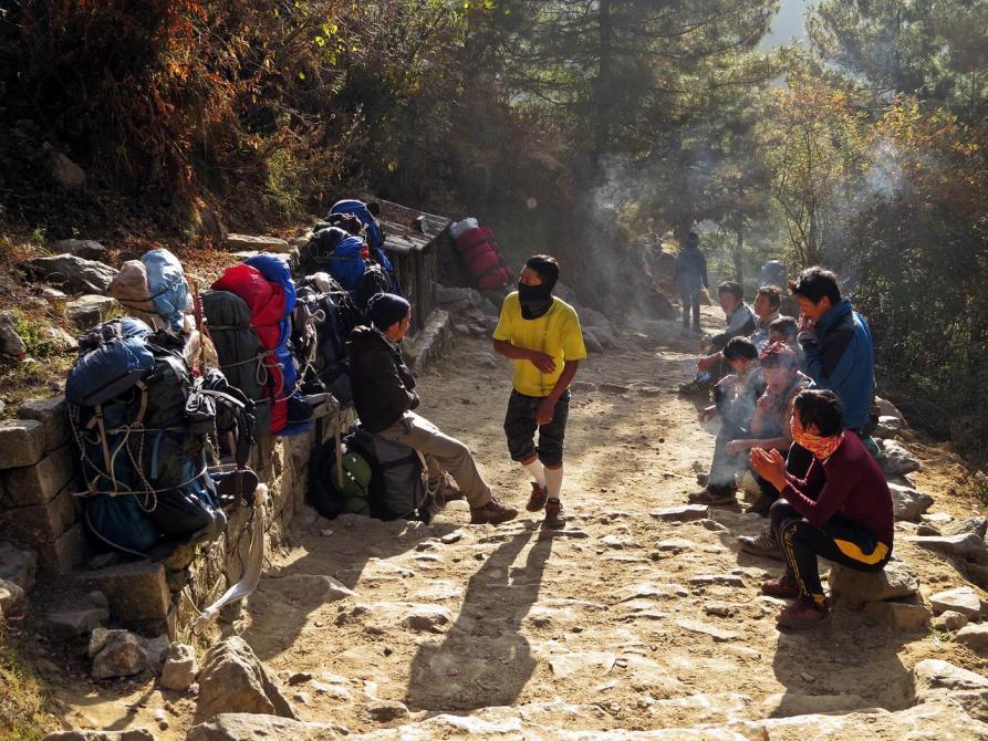 Träger, Himalaja