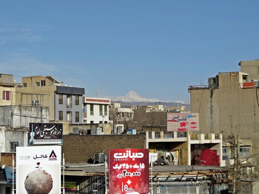 Blick über die Dächer Teherans