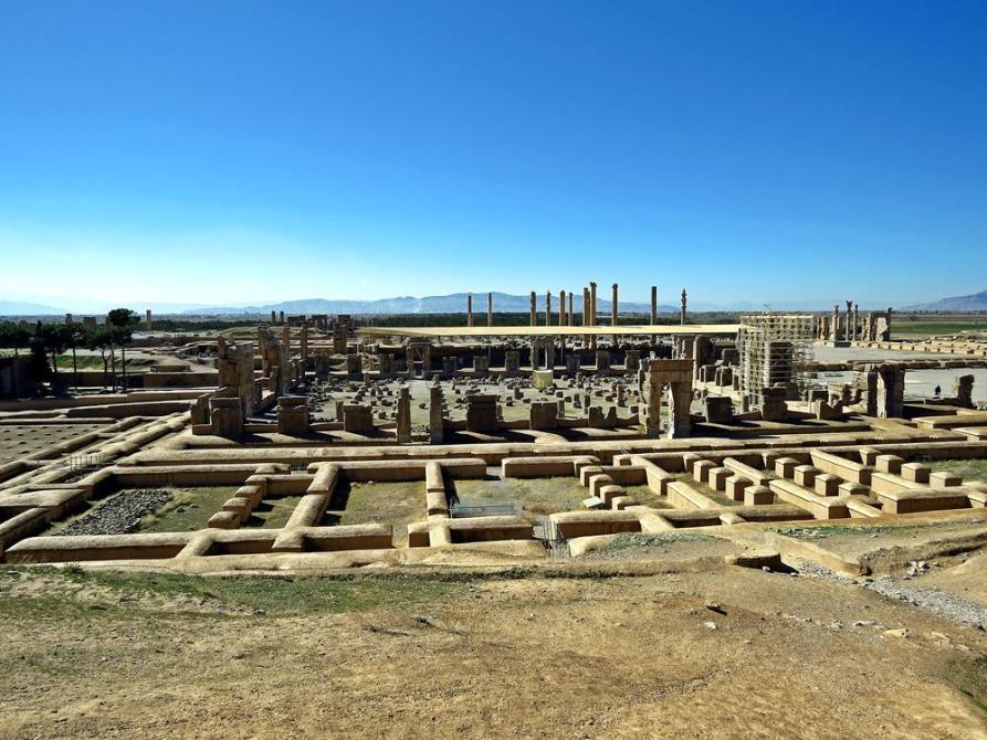 Palast der 100 Säulen, Persepolis, Iran