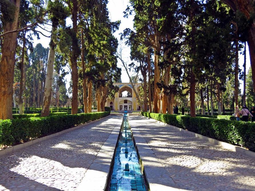 Wasserlauf im Fin-Garten
