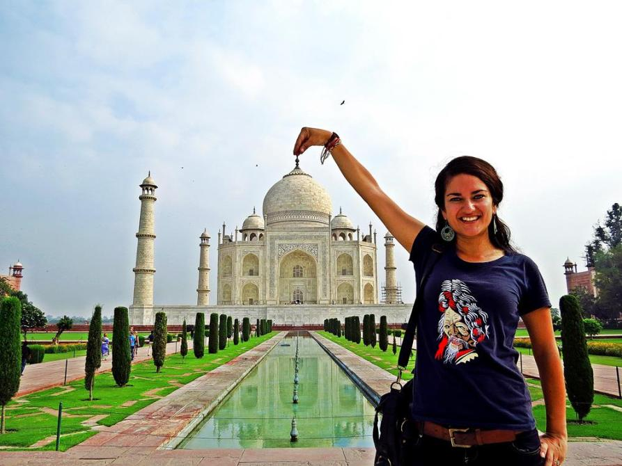 Taj Mahal, Inside Indien
