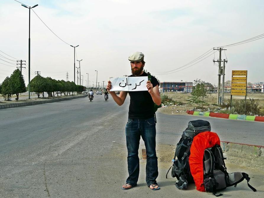per Anhalter durch den Iran
