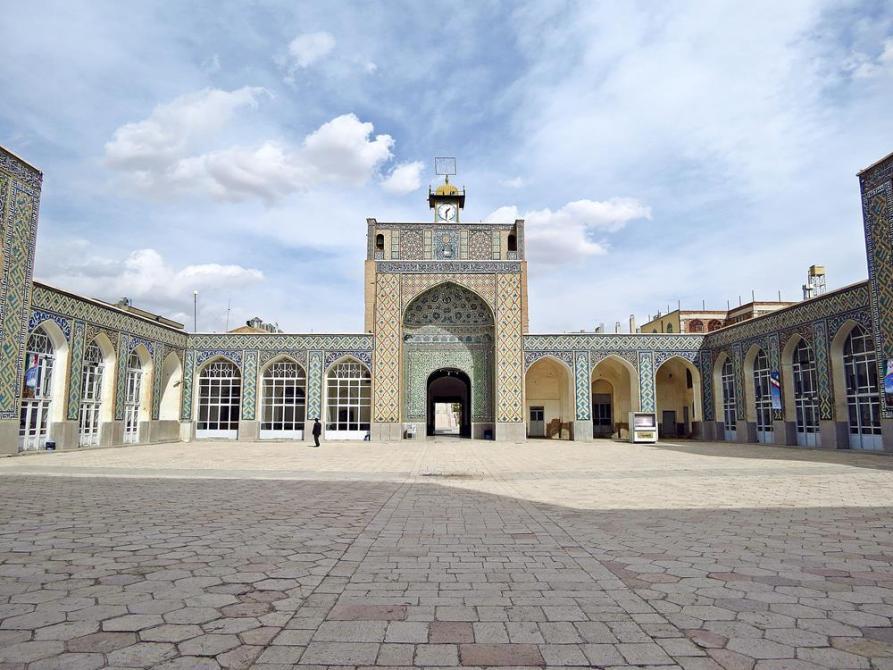 Innenhof der Freitagsmoschee in Kerman