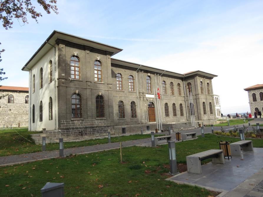 Gebäude in der Burg von Diyarbakır