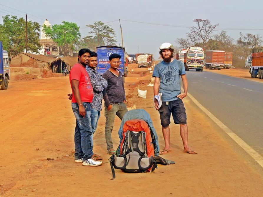 Indien, Kuriositäten, Trampen