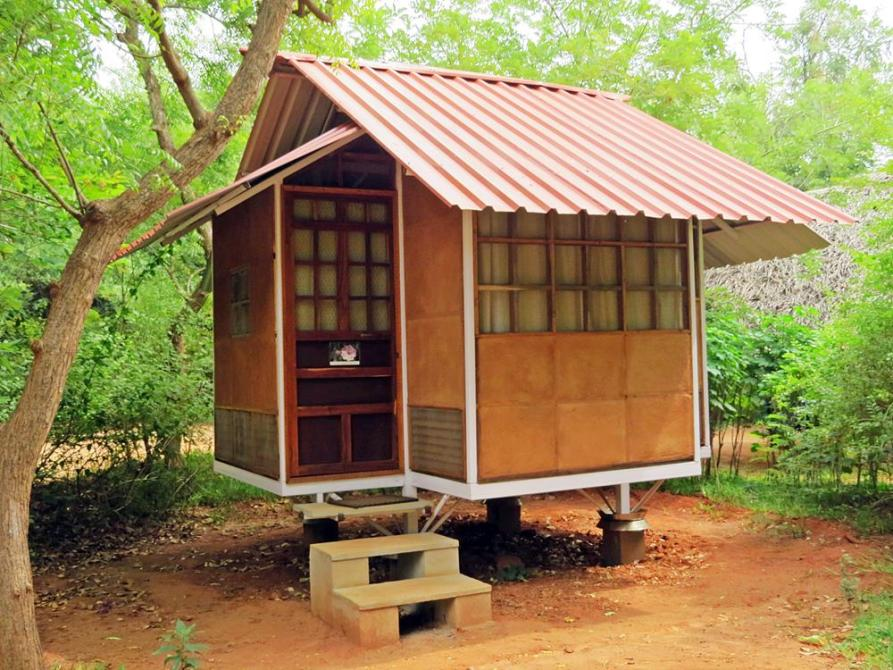 mobiles Haus in Auroville