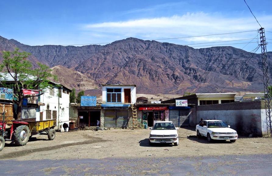Chilas am Karakorum-Highway