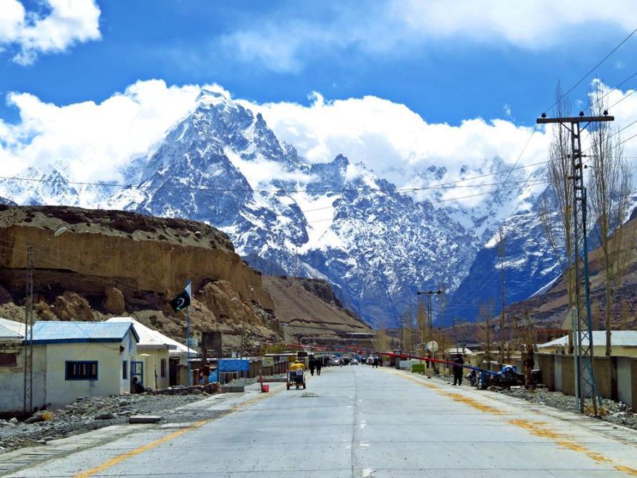 Sost, Karakorum Highway, Pakistan