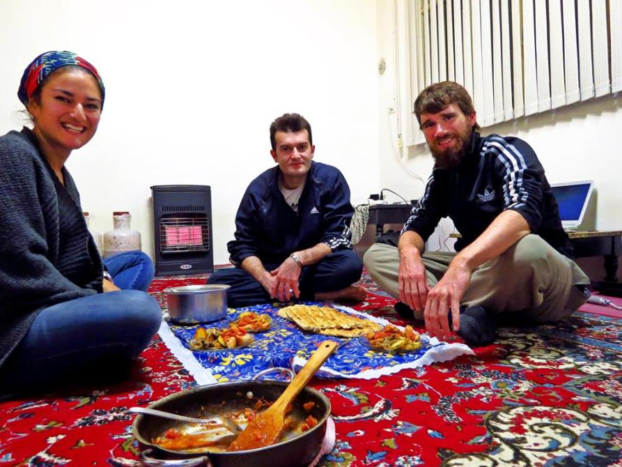 Couchsurfing, Rasht, Iran