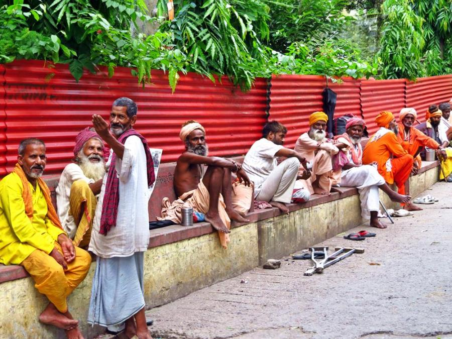Sadhus, Rishikesh, India