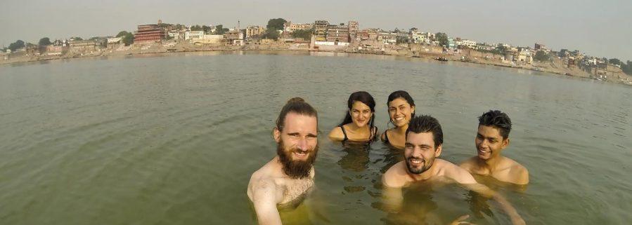 Varanasi, Ganges, Indien