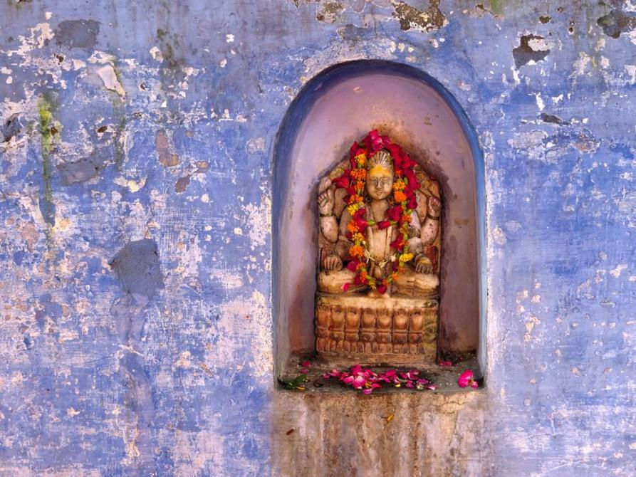 Shivastatue in Varanasi